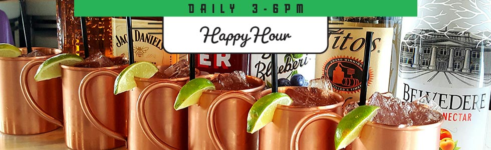 Spanky's Roadhouse | Happy Hour Craft Mules